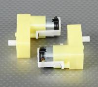Getriebemotor - abgesetzte Welle (2 Stück / Beutel)