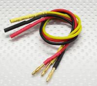 2.0mm Male / Female Einschuss Brushless Motor Verlängerungskabel 200 mm