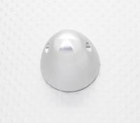 31mm Legierung Prop Nut / Spinner Suites 10mm Gewinde (Silbereloxiert)