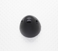 31mm Legierung Prop Nut / Spinner Suites 8mm Gewinde (schwarz eloxiert)