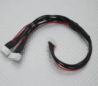 JST-XH Parallel Rest Blei 4S 250mm (2xJST-XH)