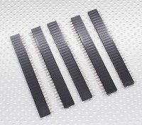 1x30P Pin Sockel - 2,54 mm Pitch (5pcs / bag)