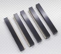 3x30P Pin Sockel - 2,54 mm Pitch (5pcs / bag)