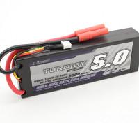 Turnigy 5000mAh 2S 7.4V 60C Hardcase-Pack