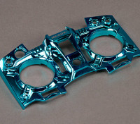 Turnigy 9XR Transmitter spezifischen Frontplatte - Metallic Blau