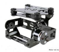 Stoßdämpfende 2 Achse Brushless Gimbal für DJI Phantom - Carbon Fiber Version