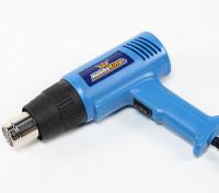 Dual Power Heat Gun 750W / 1500W Ausgang (230V / 50 Hz-Version) mit UK-Stecker
