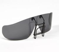 Turnigy Clip-on polarisierte Sonnenbrille (schwarz)