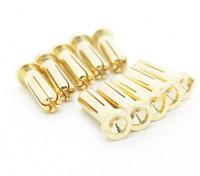 5mm Male vergoldet Feder Steckverbinder - Low Profile (10 Stück)