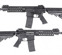 King Arms 516 CQB AEG (schwarz)