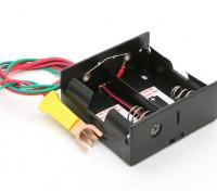 Cox Starter-Batterie-Kasten mit Glühkerzen-Clip