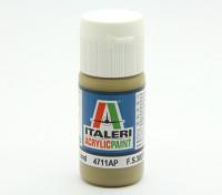 Italeri Acrylfarbe - Flach Rüstung Sand