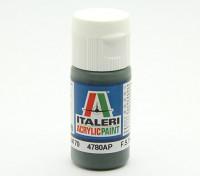 Italeri Acrylfarbe - Schwarzgrun RLM 70