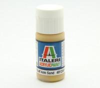 Italeri Acrylfarbe - Flach Golf Arm Sand