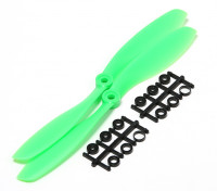 Turnigy Slowfly Propeller 8x4.5 Green (CW) (2 Stück)