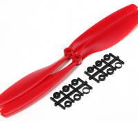 Turnigy Slowfly Propeller 10x4.5 Rot (CW) (2 Stück)