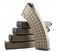 King Arms 600rounds Waffelmuster Magazine für Marui AK AEG (dunkle Erde, 5pcs / box)