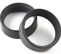 Team Sorex 24mm Molded Reifeneinsätze Typ-B Firm (2 Stück)