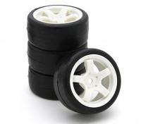 Sweep SWP-MN25 Mini Touring komplette Reifen-Set 25deg (4 Stück)