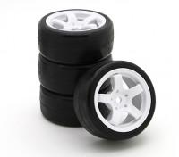 Sweep SWP-MN33 Mini Touring komplette Reifen-Set 33deg (4 Stück)