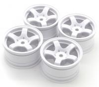 Sweep Mini 5 Speichenrad Typ A - Weiß (4 Stück)