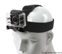 Einstellbare Gummizug Kopfband für GoPro / Turnigy Action Cam