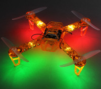 Hobbyking FPV250 V4 orange Geist Ausgabe LED-Nacht Flyer FPV Quadrocopter (orange) (Kit)
