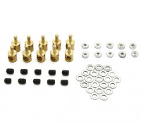 Messing Linkage-Stopper für 3mm Pushrods (10 Stück)