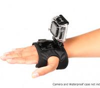 Einstellbare Glove-Einfassung für GoPro oder Turnigy Aktion Cams (Large)