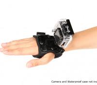 Einstellbare Glove-Einfassung für GoPro oder Turnigy Aktion Cams (Small)