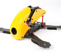 Hobbyking ™ Robocat 270mm Echte Carbon-Racer Quad (Gelb)