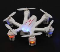 MJX X900 Nano Hexcopter mit 6-Achsen-Gyro-Modus 2 Ready To Fly (weiß)