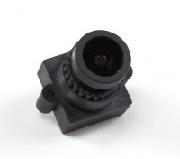 "2.8mm Brett-Objektiv F2.0 CCD Größe 1/3 ""Winkel 160 ° Winkel w / Berg"