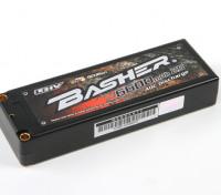 Basher 6600mAh 2S2P 40C Hardcase LiHV-Pack