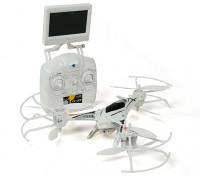CX-33 Tricopter w / 5.8Ghz Tx, Monitor, HD-Kamera, 2,4-GHz-Modus 1 / Modus 2 Schaltbare Tx (RTF)