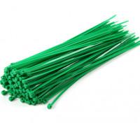 Kabelbinder 160mm x 2.5mm Green (100pcs)