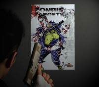Zombie Clown Papier Target (50 Blatt)