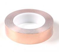 Selbstklebende, Kupferband 0,09 x 30mm (25 Meter)
