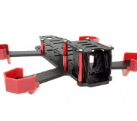 NightHawk 200 Carbon Fiber-Rahmen-Kit (4 mm Bottom Frame)
