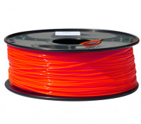 Hobbyking 3D-Drucker Filament 1.75mm PLA 1KG Spool (Fluorescent Red)