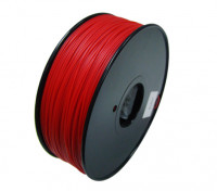 Hobbyking 3D-Drucker Filament 1.75mm HIPS 1.0KG Spool (Solid Red)