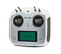 I6S AFHDS 2A weiß Mode2 6CH Radio mit Farbenkasten