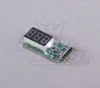 Battery Monitor 2-6S