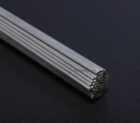Aluminiumrohre D3x * 2x1000mm