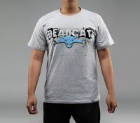 Hobbyking Bekleidung DeadCat 100pcnt Baumwoll-Shirt (XL)