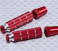 Alloy Anti-Rutsch-TX Steuerknüppel Long (JR TX Red)