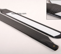 500mm WIG-Carbon-Faser-Z-Weave-Hauptblätter