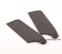62mm WIG-Carbon-Faser-Endstück-Blatt