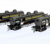 Southern Rail HO Scale SA/BP ATB Series 3 Car Oil Tank Set (South Australia/BP 1988-1992)