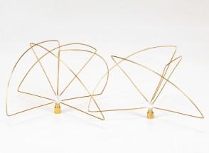 900Mhz zirkular polarisierte Antenne Set (SMA) (LHCP) (Kurz-)